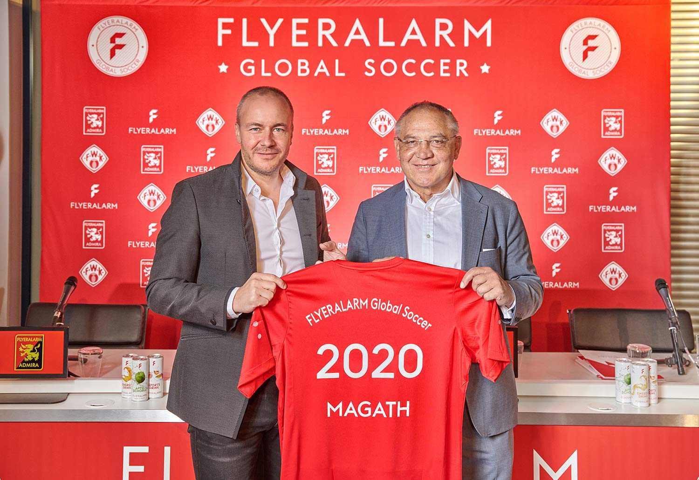 FLYERALARM Global Soccer - Global Soccer Pressekonferenz